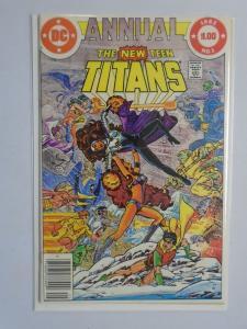 New Teen Titans Annual #1, 6.0 (1982)