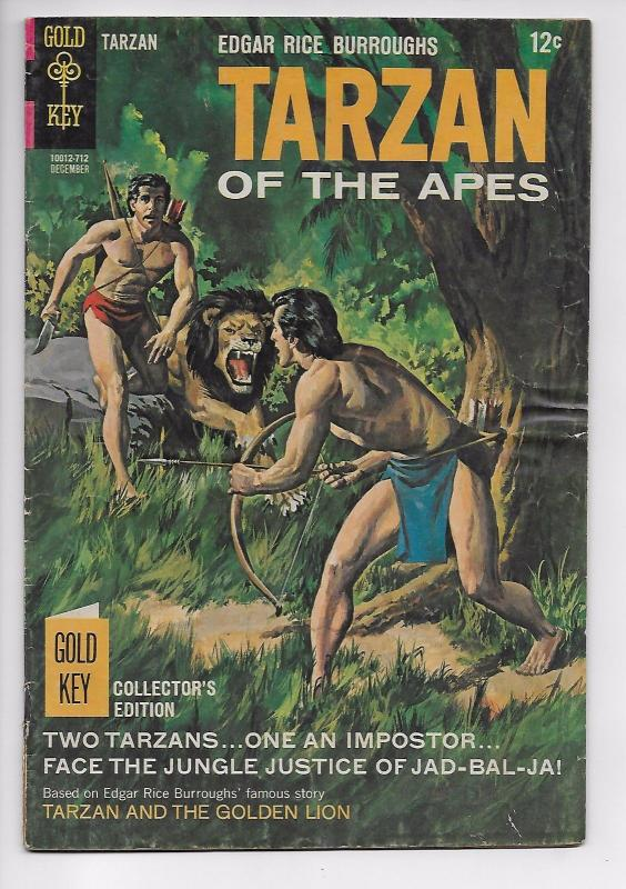 Tarzan of the Apes #173 - Jad-Bal-Ja and the Imposter (Gold Key, 1965) - VG/FN