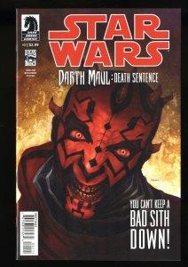 Star Wars: Darth Maul - Death Sentence #1 NM+ 9.6