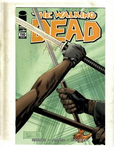 5 Walking Dead Image Comic Books # 110 + FCBD + # 1 Ann Governor Tyreese RP4