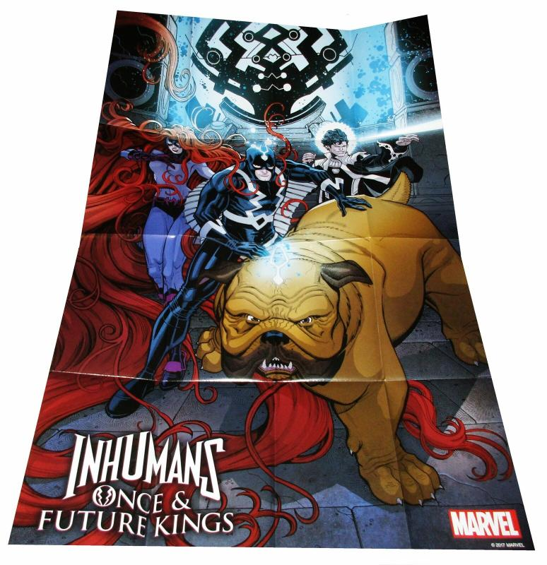 Inhumans Once & Future Kings Folded Promo Poster (36 x 24) - New!