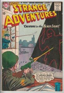 Strange Adventures #163 (Apr-64) VG/FN+ Mid-Grade Star Hawkins