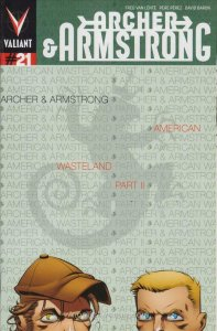 Archer and Armstrong (2nd Series) #21A VF/NM; Valiant | save on shipping - detai