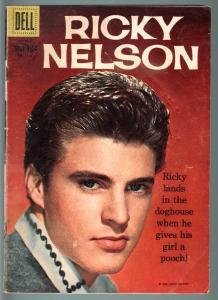 Ricky Nelson Four Color Comics #1115..Dell..1961..Portrait photo cover..TV. G/VG