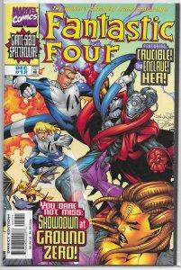 Fantastic Four (vol. 3, 1998) #12 VF Claremont/Larroca, Her, Crucible