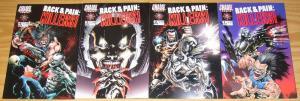 Rack & Pain: Killers #1-4 VF/NM complete series - chaos comics - jae lee set 2 3