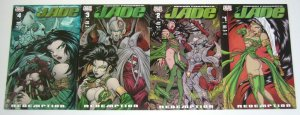Chaos Presents: Jade - Redemption #1-4 VF/NM complete series bad girl chaos 2001