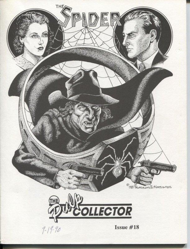 Pulp Collector #48 1990-Spider-Frank Hamilton-Dan Turner-Crimson Mask-FN/VF