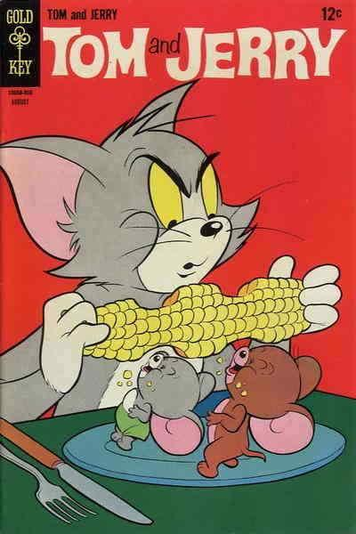 Tom & Jerry Comics #241 VG; Dell | low grade comic - save on shipping - details