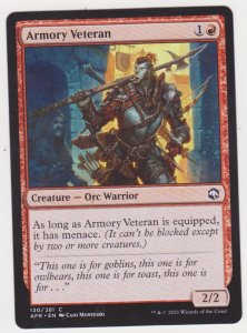 Magic the Gathering: Adventures in the Forgotten Realms - Armory Veteran