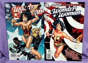 J. Torres Amazons Attack WONDER WOMAN #11 - 12 Paco Diaz (DC, 2007)!