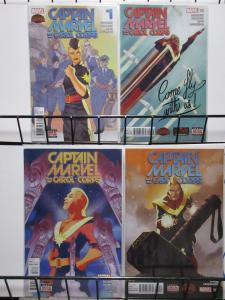 Captain Marvel and the Carol Corps (2015) #1-4 Secret Wars DeConnick