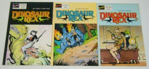 Dinosaur Rex #1-3 FN complete series - bad girl with dinosaurs - upshot 2 set