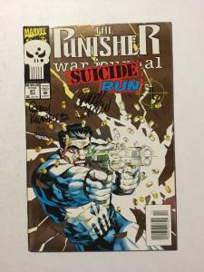 Punisher Suicide Run 61 Sign By Chuck Dixon & Gary Kwapisz With C.O.A. NM Near