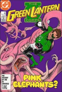 DC GREEN LANTERN CORPS (1986 Series) #211 VF