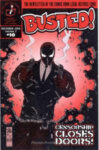 Busted! (vol. 2) #10 VF/NM; Comic Book Legal Defense Fund | save on shipping - d