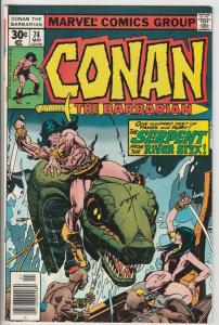 Conan the Barbarian #74 (May-77) NM- High-Grade Conan the Barbarian