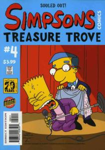Simpsons Comics Treasure Trove (Bongo) #4 VF/NM; Bongo | save on shipping - deta