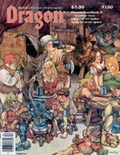 TSR DRAGON MAGAZINE #120 VF-