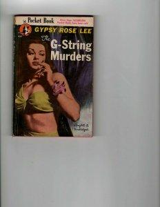 3 Books The G-String Murders Little Men, Big World Our Friend the Atom JK10