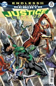 Justice League (2016 series) #20, NM + (Stock photo)
