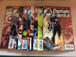 Captain America 42-50 NM 9 Books Lot Set Run 509-518