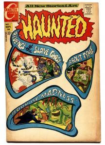Haunted #1 comic book 1971- All Ditko art- Chartlon Horror- Slave Ghost