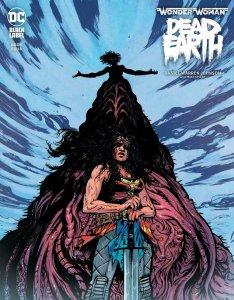 WONDER WOMAN DEAD EARTH #4 (OF 4) CVR A DANIEL WARREN JOHNSON