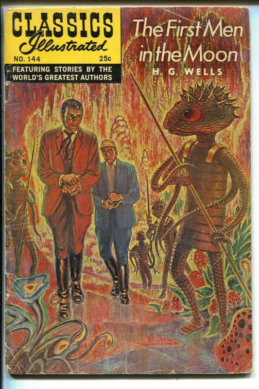 Classics Illustrated   Gilberton H G Wells Hrn  Vg