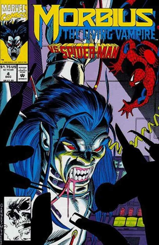 Morbius: The Living Vampire #4 FN; Marvel | save on shipping - details inside