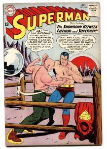 SUPERMAN #164 1963-DC COMICS-LEX LUTHOR BOXING FN+