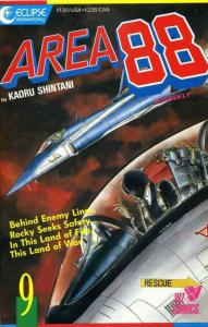 Area 88 #9 VF/NM; Eclipse   save on shipping - details inside