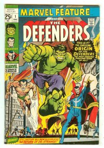 Marvel Feature 1   Origin & 1st Defenders   Neal Adams cover