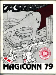Magiconn 79 Program Book for Magicians Convention 1979-pix-info-SAM