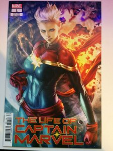 Life of Captain Marvel #1B Artgerm Variant NM Marvel Comics 2018