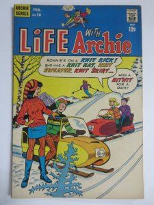 LIFE WITH ARCHIE 70 VG-  Feb. 1968 COMICS BOOK