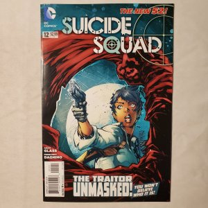 Suicide Squad 12 Very Fine Cover by Ken Lashley