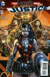Justice League (2nd Series) #47 VF/NM; DC | save on shipping - details inside