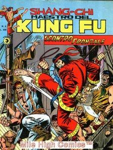SHANG-CHI MAESTRO DEL KUNG FU MAGAZINE ITALIAN (1975 Series) #4 Very Good