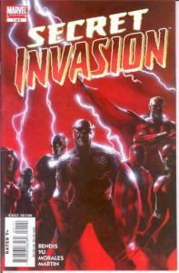 SECRET INVASION  (2008)  1 VF June 2008