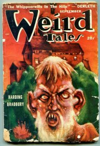 Weird Tales September 1948- Whippoorwills in the Hills G/VG