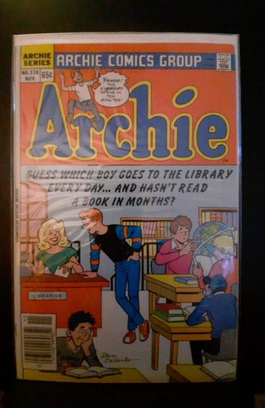 Archie #338 (1985)