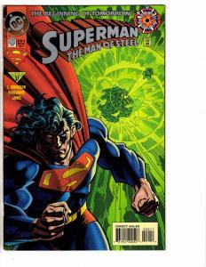 9 Superman Man Of Steel DC Comics # 0 38 39 40 41 42 43 44 45 Batman Flash J214