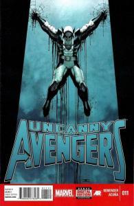 Uncanny Avengers #11 VF/NM; Marvel | save on shipping - details inside