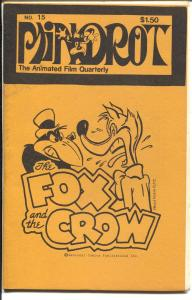Mindrot #15 1979-Animated Film Quarterly-Fox and Crow-Krazy Kat-FN
