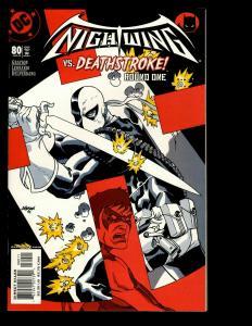 12 Nightwing DC Comics #80 81 82 83 84 85 86 87 88 89 90 91 Batman Superman GK10