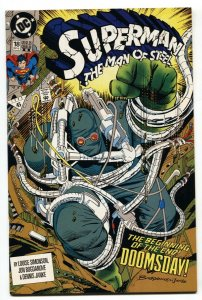 SUPERMAN THE MAN OF STEEL #18 1st DOOMSDAY-DC-HTF-2nd PRINTING