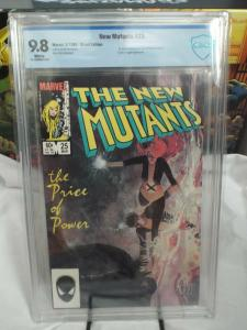 New Mutants #25 (1985) - CBCS 9.8 - 1st Cameo Appearance of Legion - Sienkiewicz