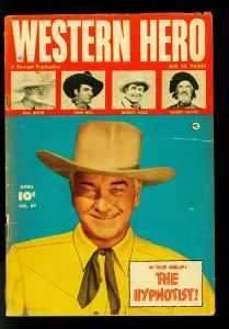 Western Hero #89 1950- Tom Mix- Bill Boyd- Monte Hale- G
