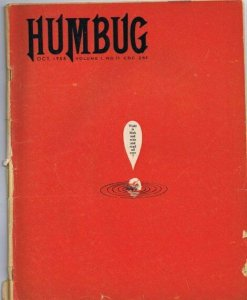 ORIGINAL Vintage 1958 Humbug Magazine #11 Final Issue